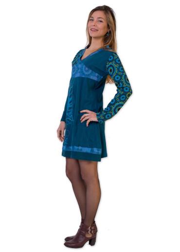Robe ARAGON Bleu