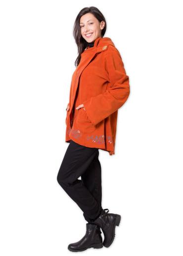 Veste Polaire COLUMBIA Orange