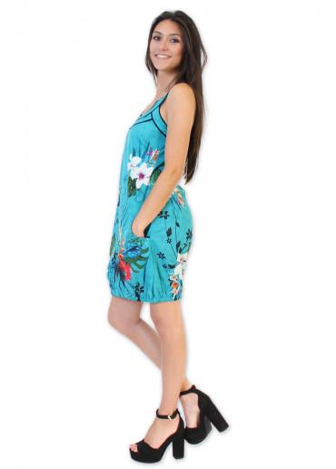 Robe ISABELLA Turquoise
