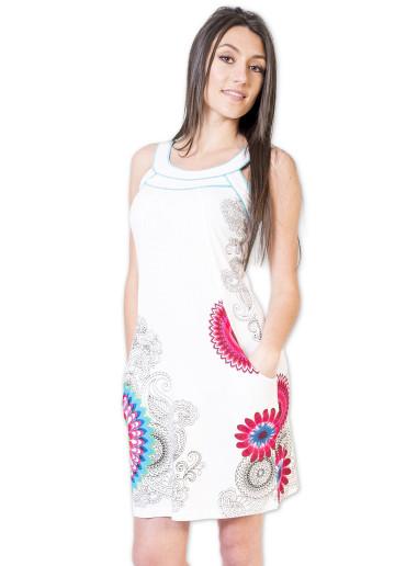 Robe LARA Blanc