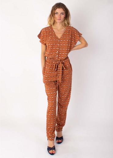 Combi-pantalon Lisy 29 Camel