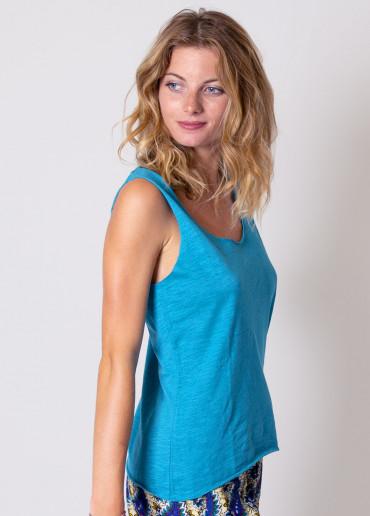 Top MAELINE Turquoise