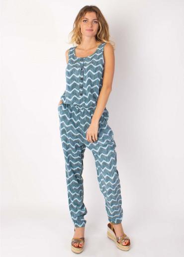Combi-pantalon Mallaury  Vert