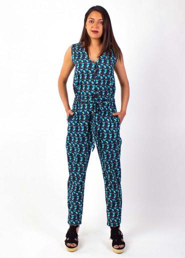 Combi-pantalon Manoa 13 Bleu