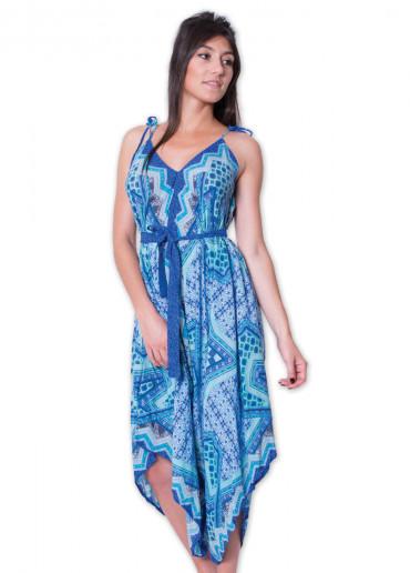 Combi-pantalon MARION Imprimé 45 Bleu