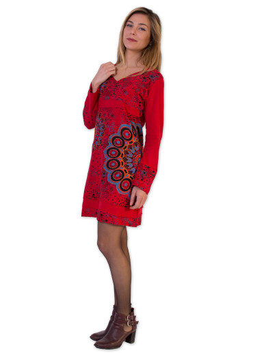Robe ONEGA Rouge