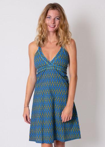 Robe Paloma Imprimé 11 Bleu