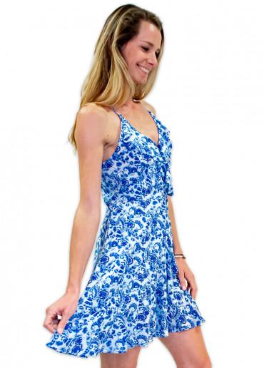 Robe SIENNA Imprimé 37 Bleu