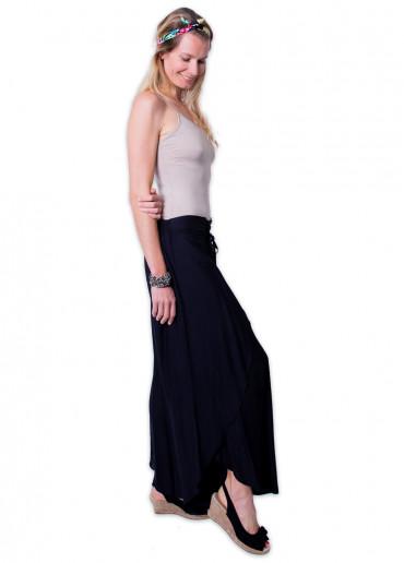 Pantalon-sarouel VIETNAM Noir