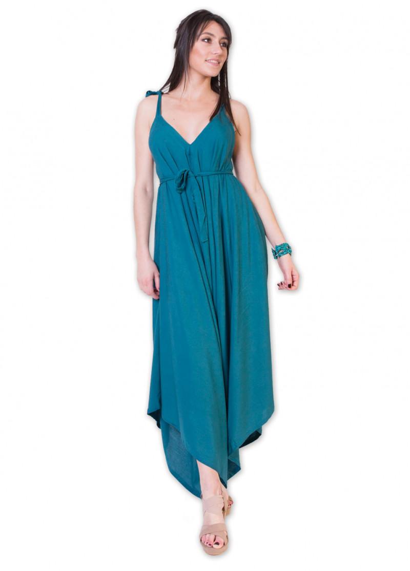 Combi-pantalon YSALINE Bleu Pétrole