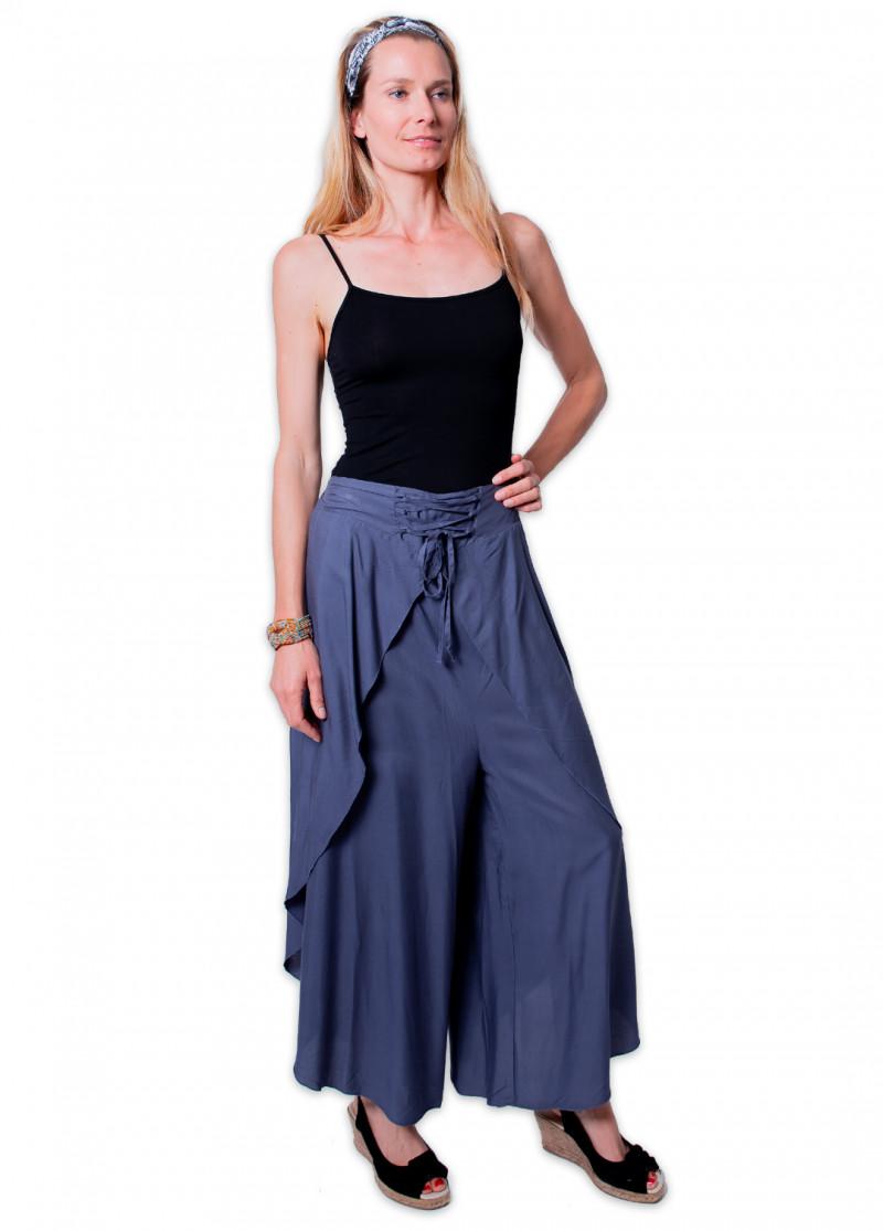 Pantalon-sarouel VIETNAM Anthracite