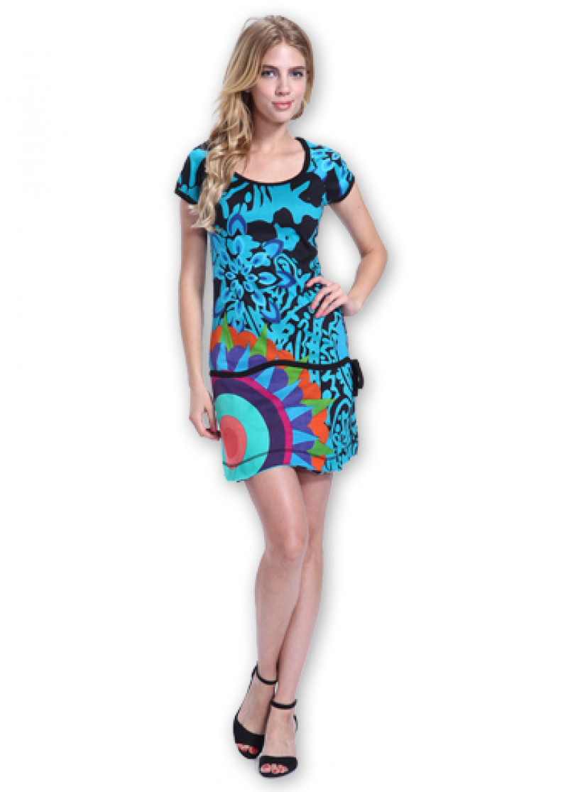Blue ADELIA Dress