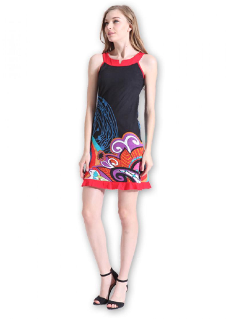 Black ALEA Dress