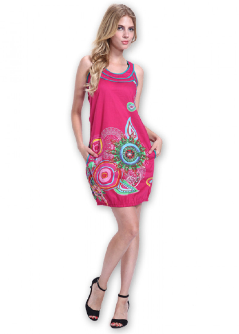 Pink ALTHEA Dress