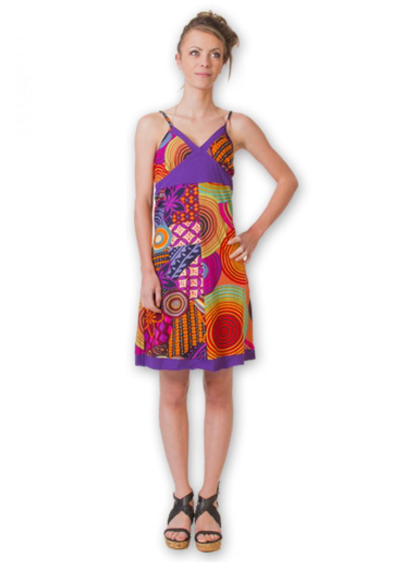 Purple ANASTASIA Dress