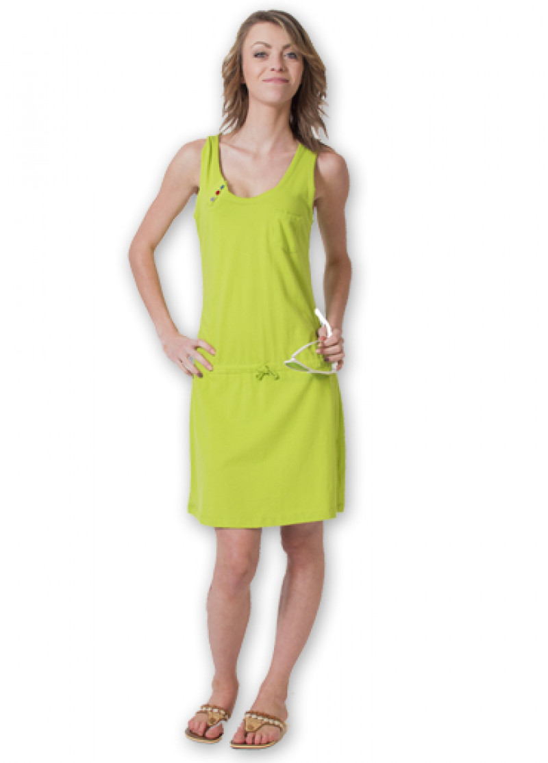Green ANGELA Dress
