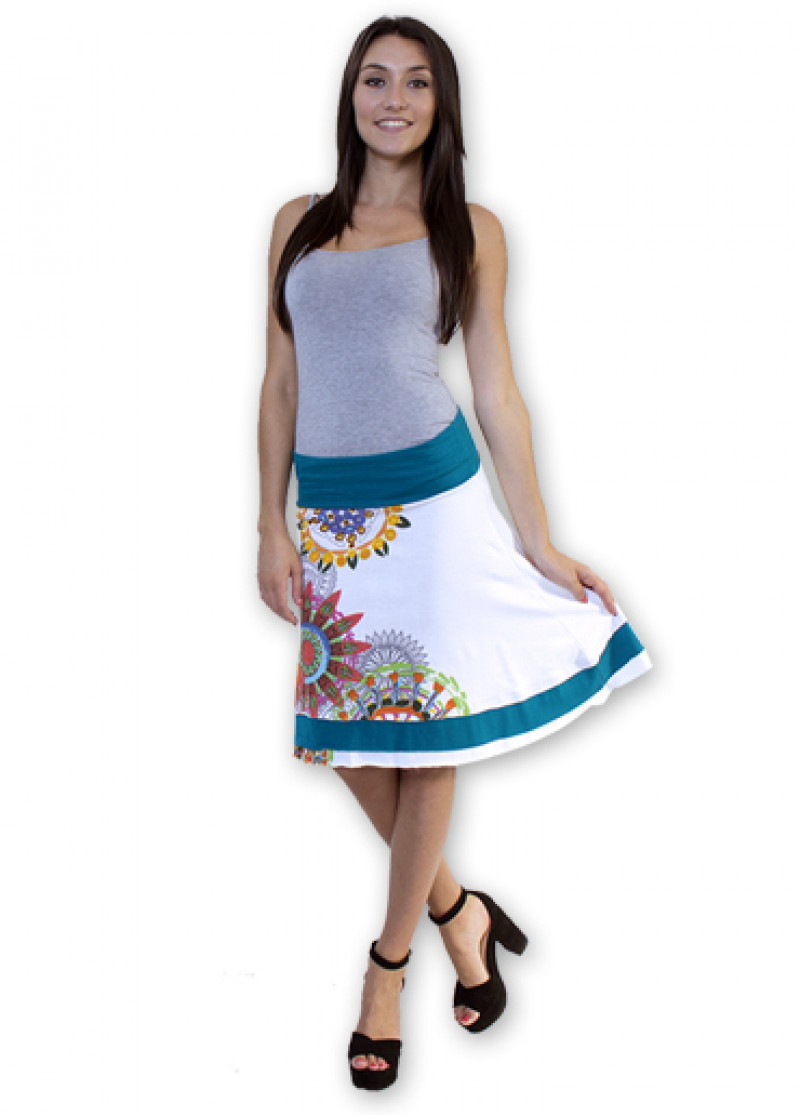 White BRITANY 2 Skirt
