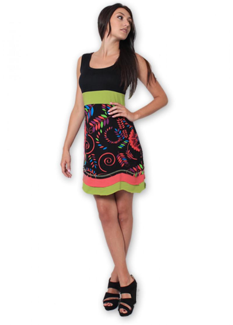 Black CLARA Dress