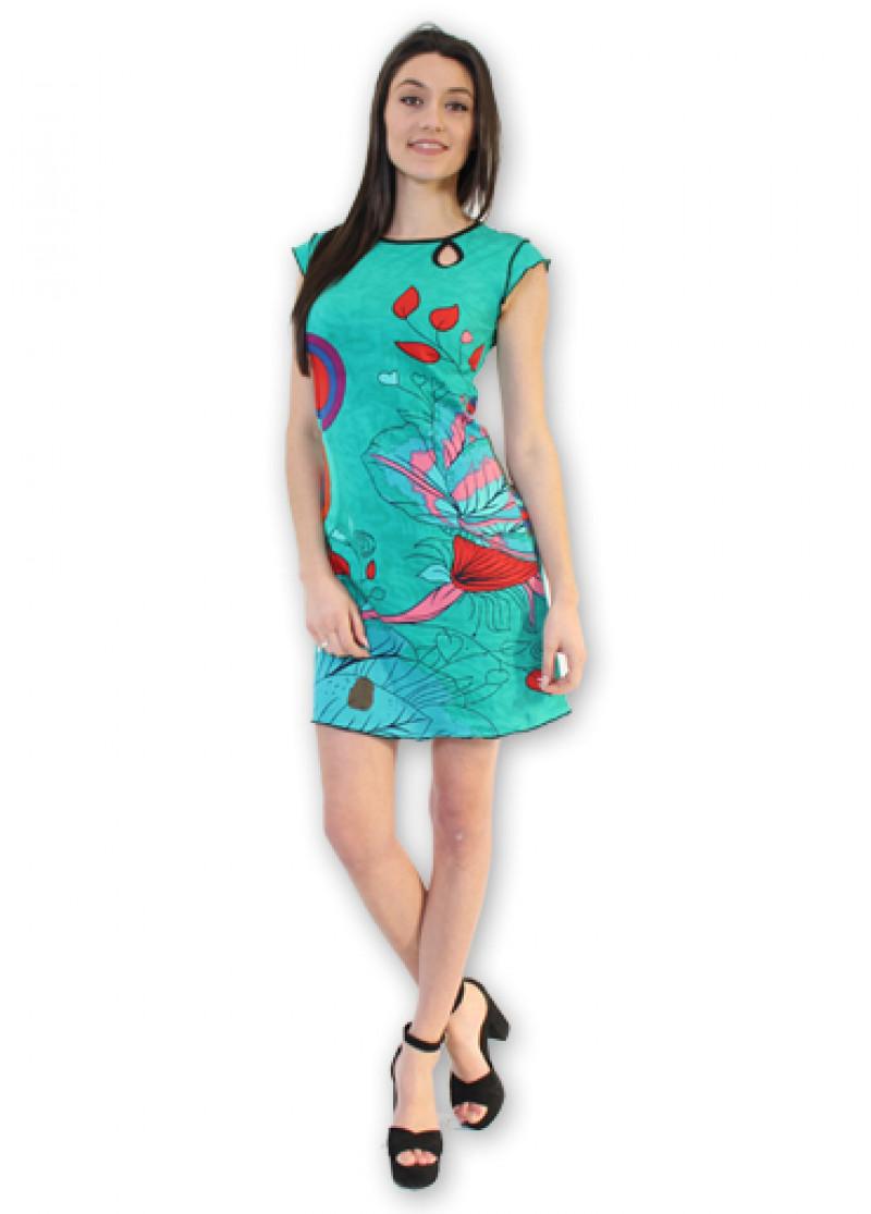 Green CORA Dress