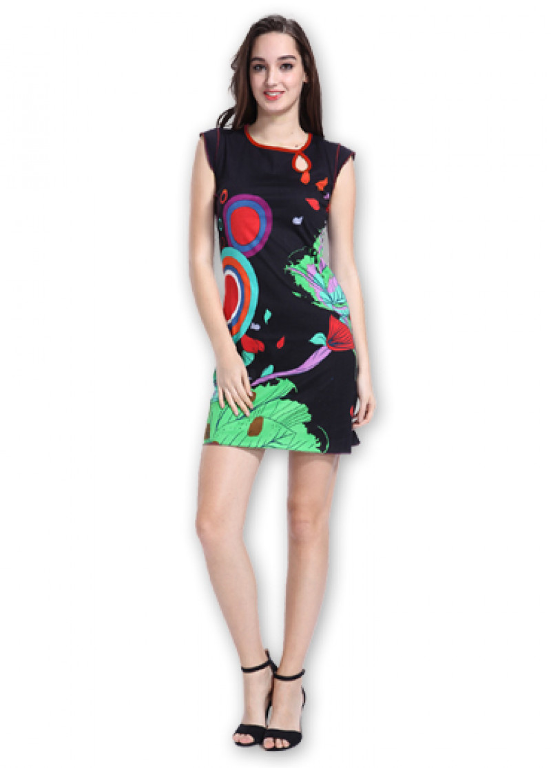 Black CORA Dress