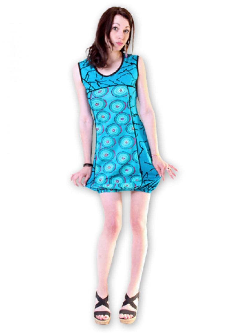 Blue DOUNIA Dress