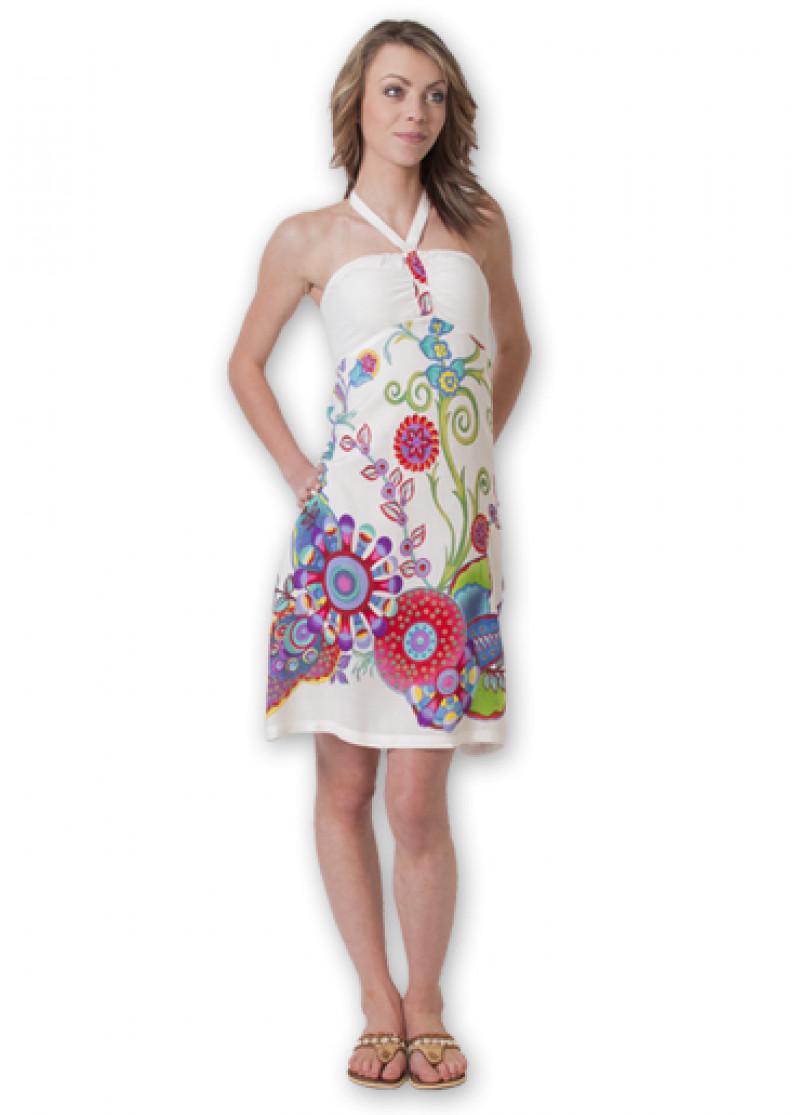 White ELISA 2 Dress