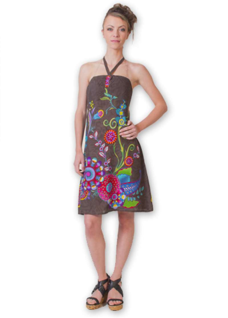 Grey ELISA 2 Dress