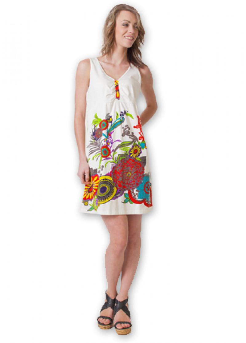 White ELSA Dress