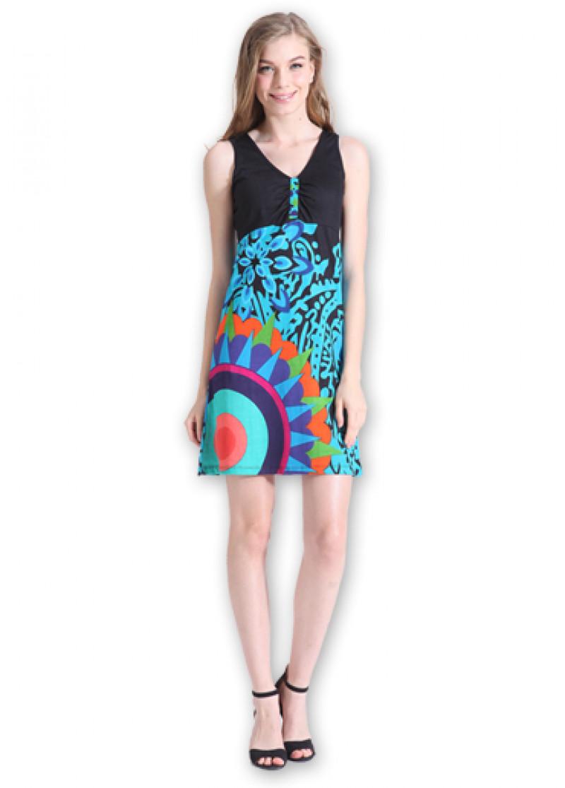 Blue GAYA Dress