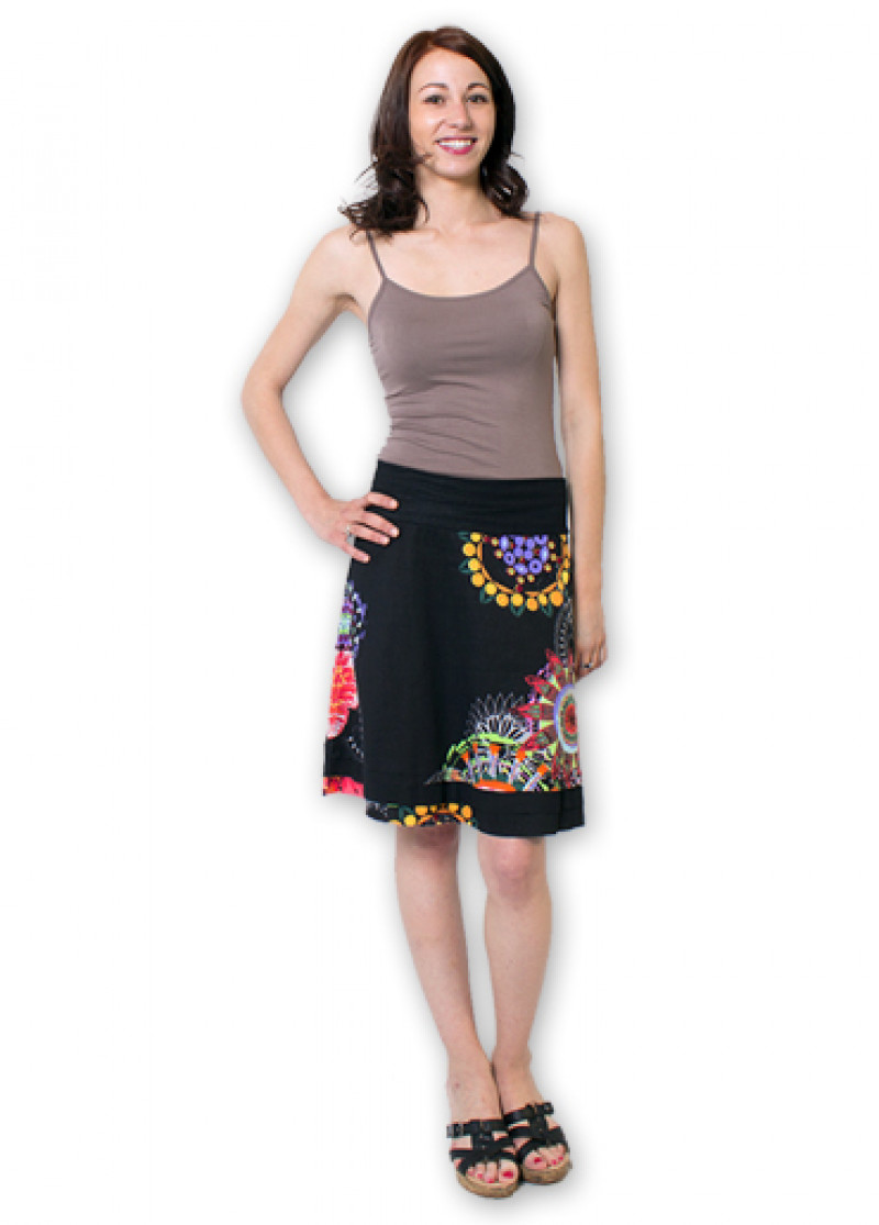Black BRITANY Skirt