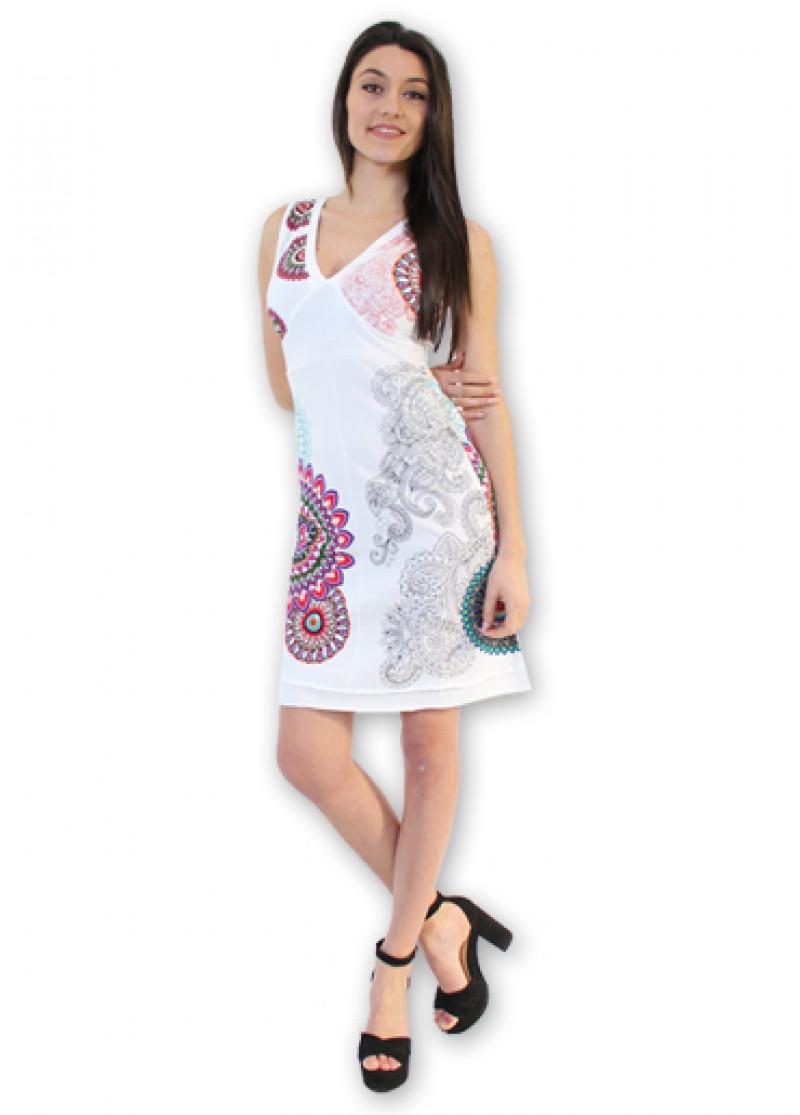 Robe KELINA Blanc