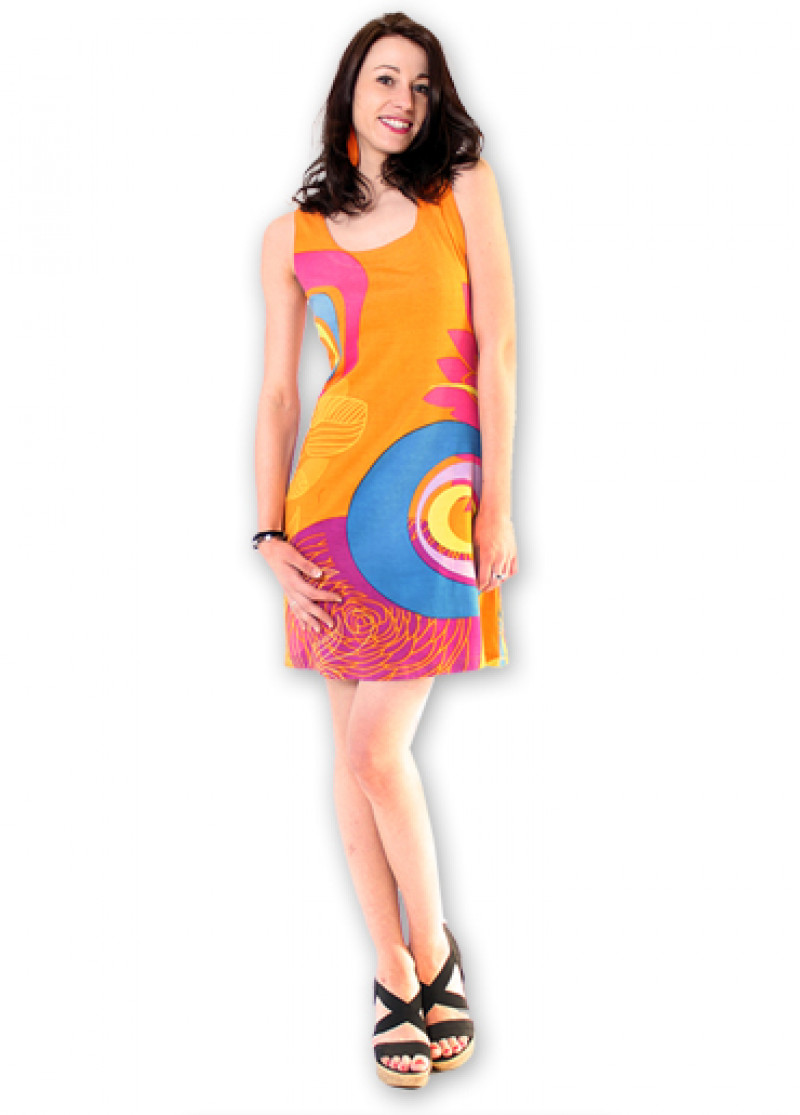Orange LILA Dress