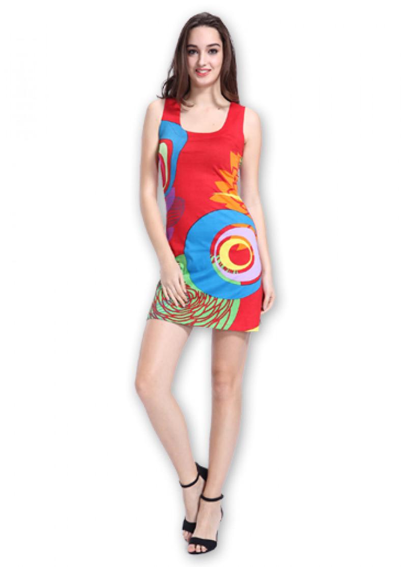 Red LILA Dress