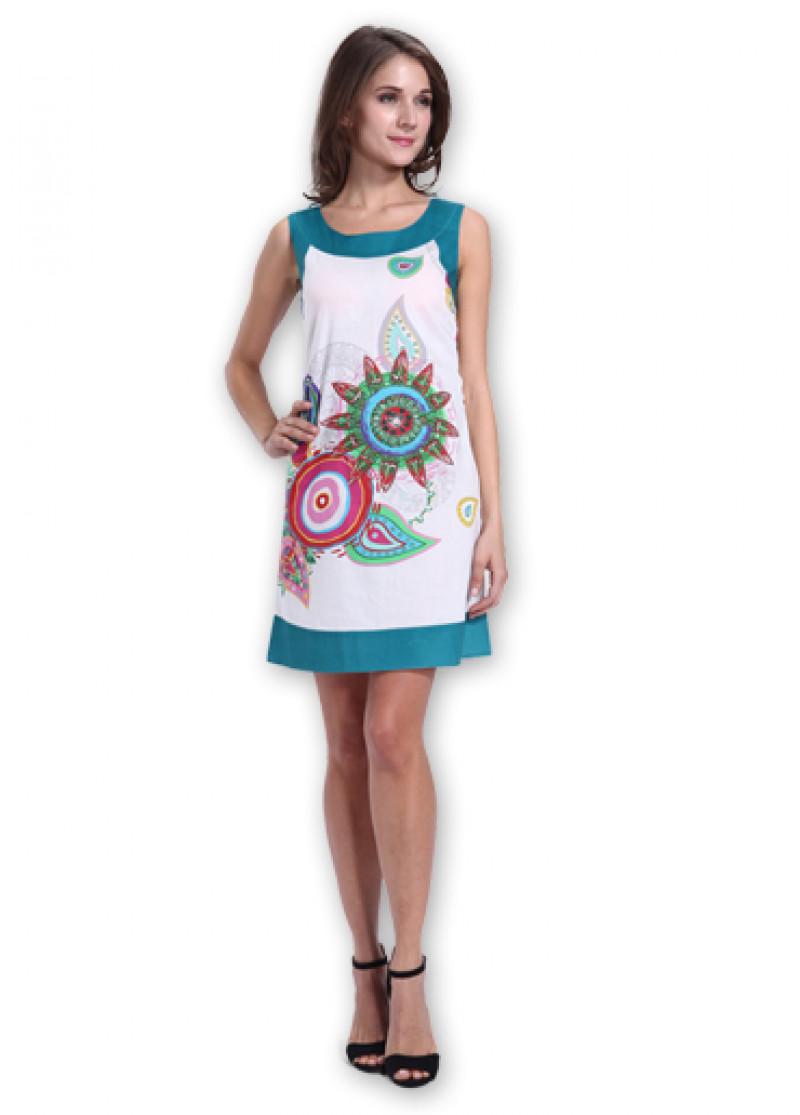 White MARLA Dress
