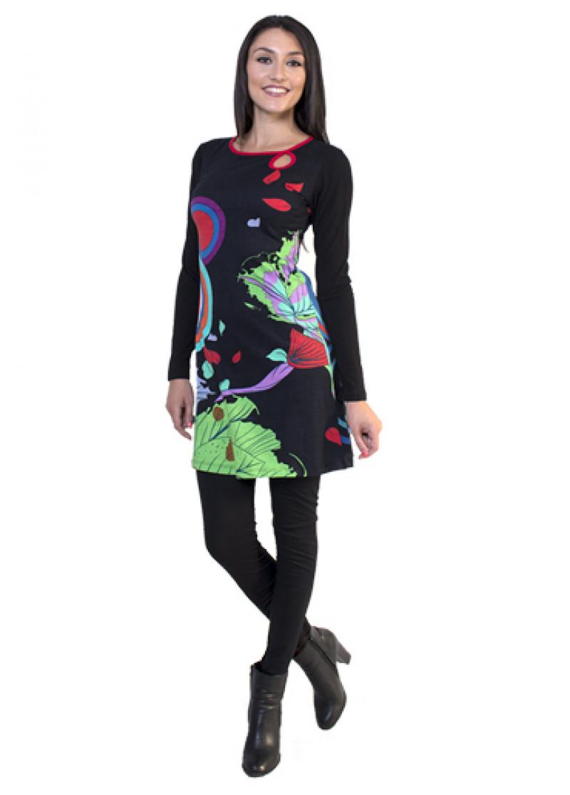 Black MIRABELLE Dress