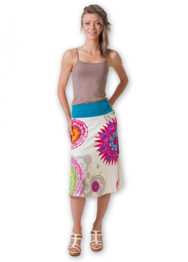 White NOELY Skirt
