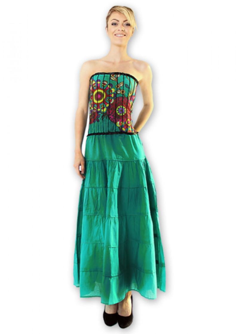 Green OCELIA Maxi Dress