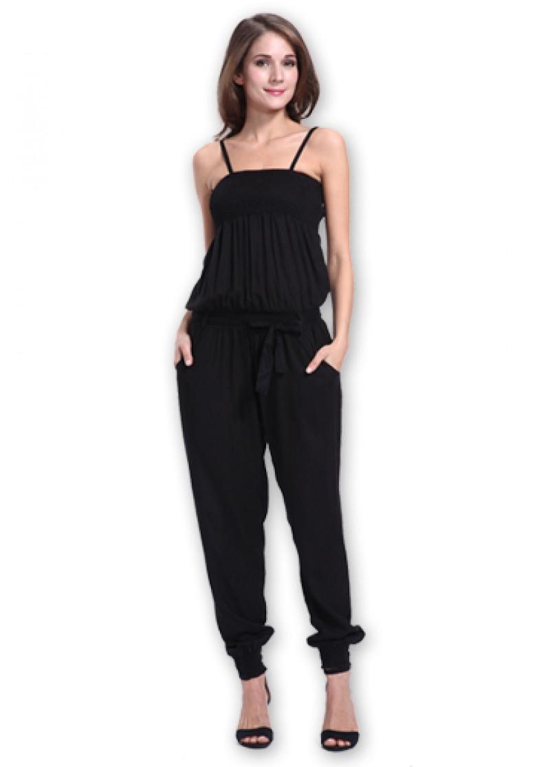 Black PAOLA Jumpsuit