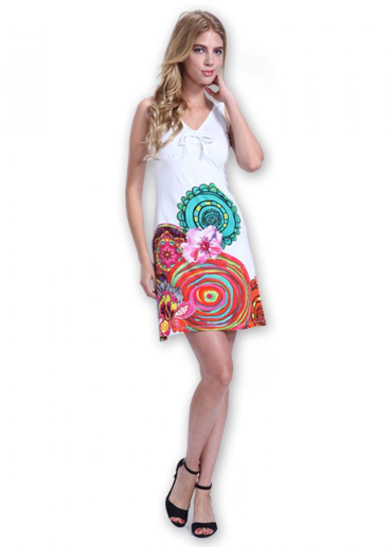 White ROMA Dress