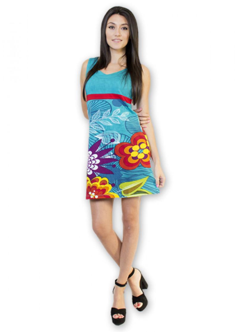 Blue ROSA Dress