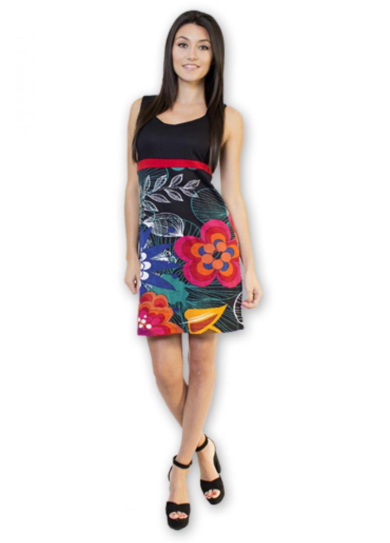 Black ROSA Dress
