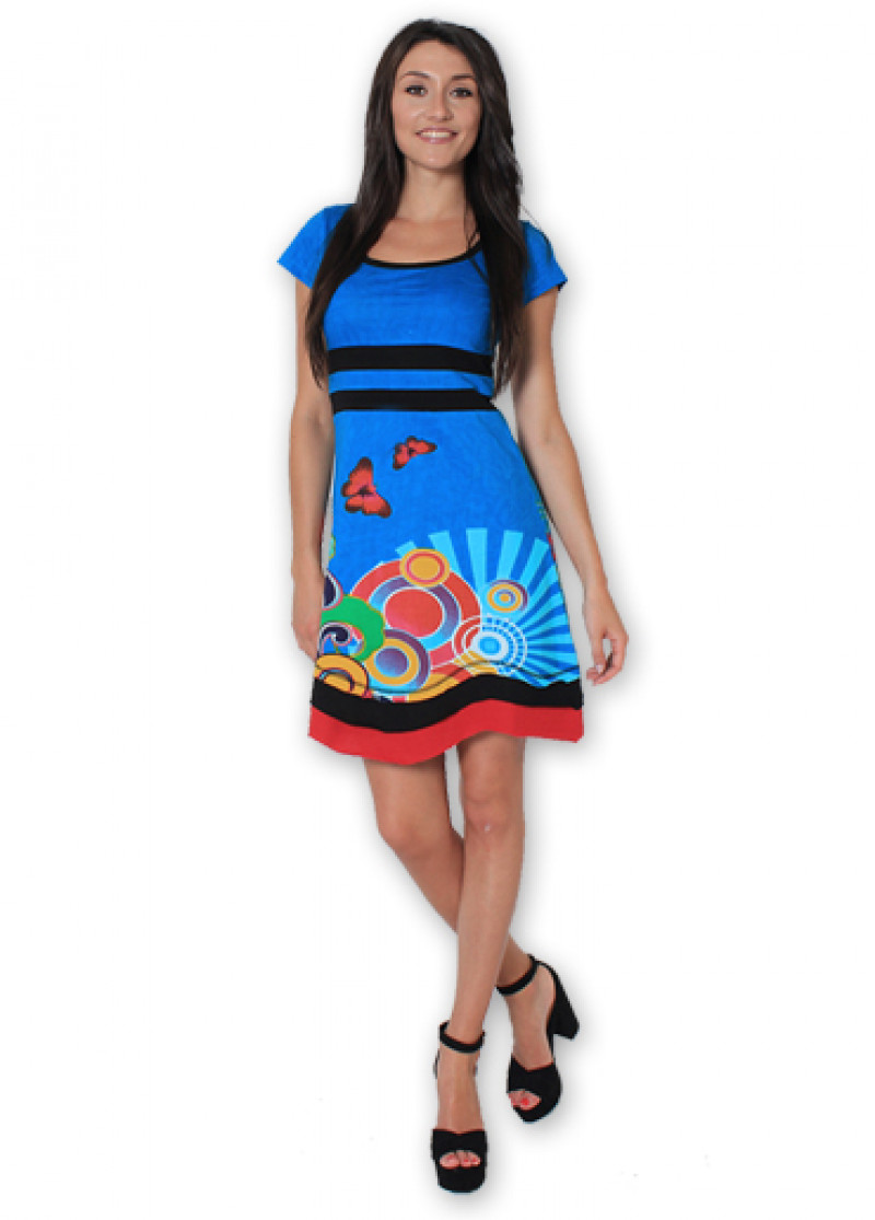 Blue SACHA Dress