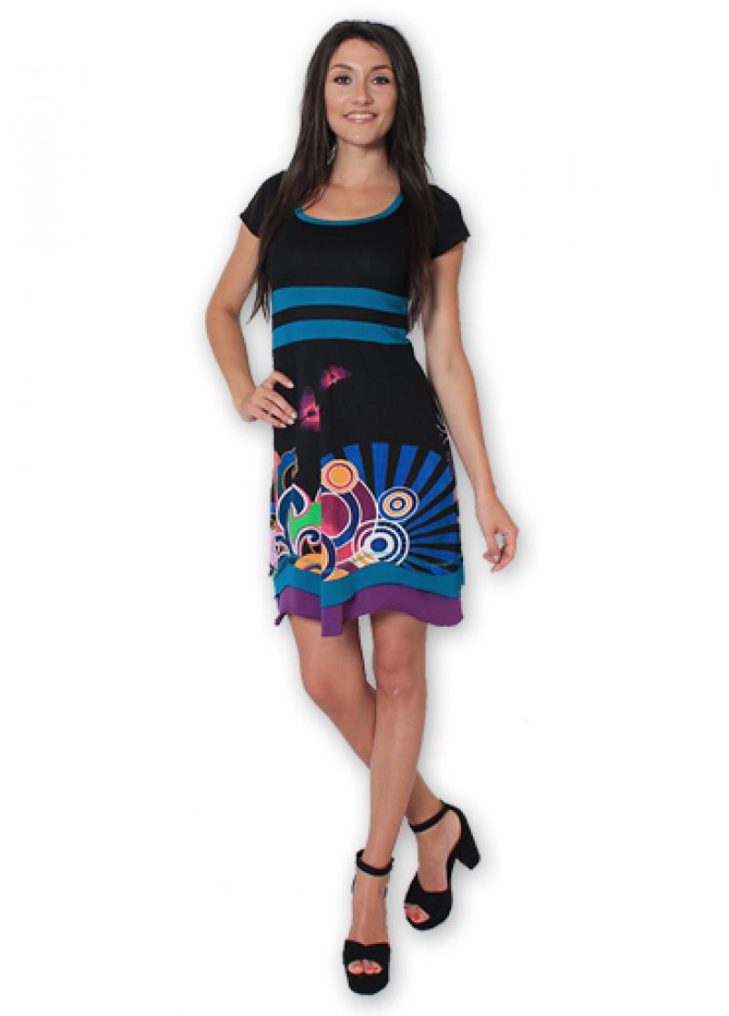 Black SACHA Dress