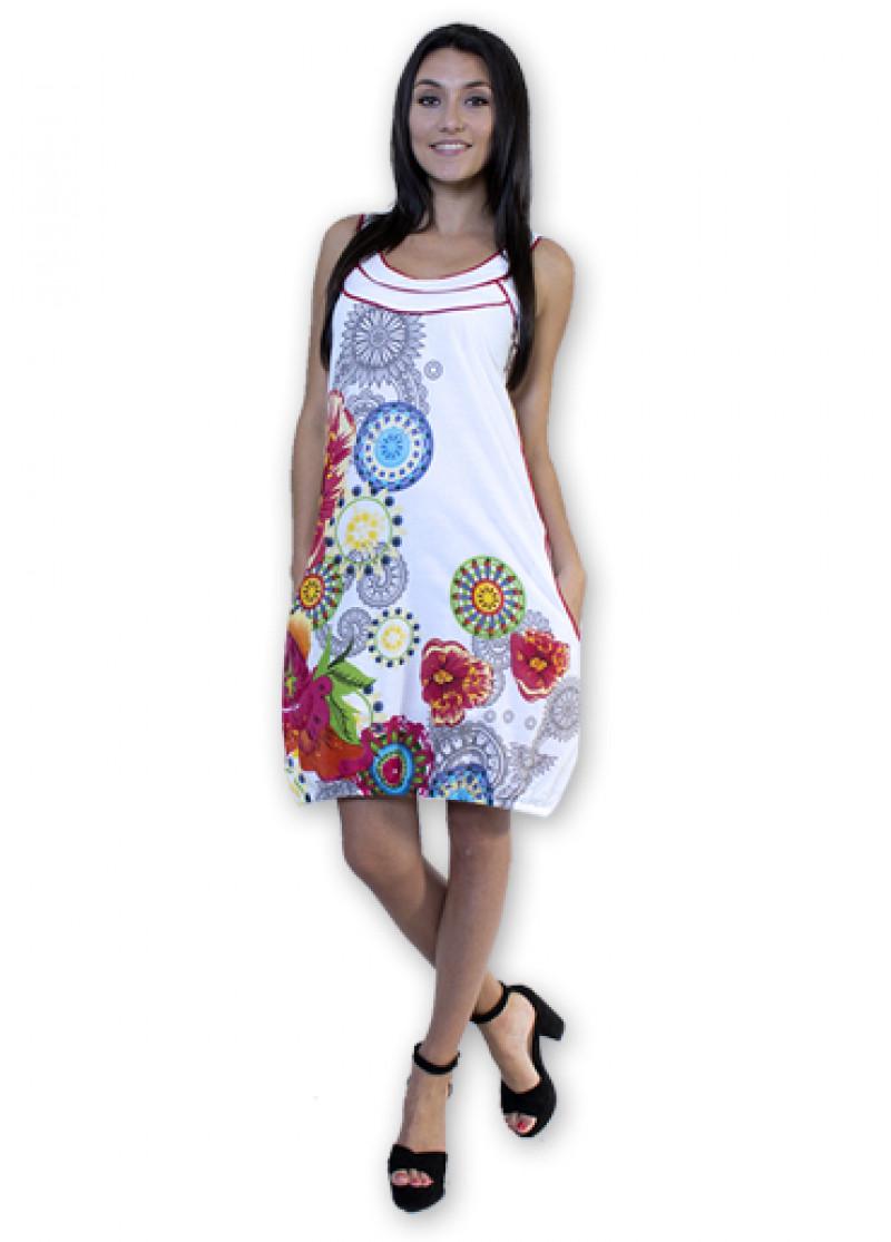 White SAVANNA Dress