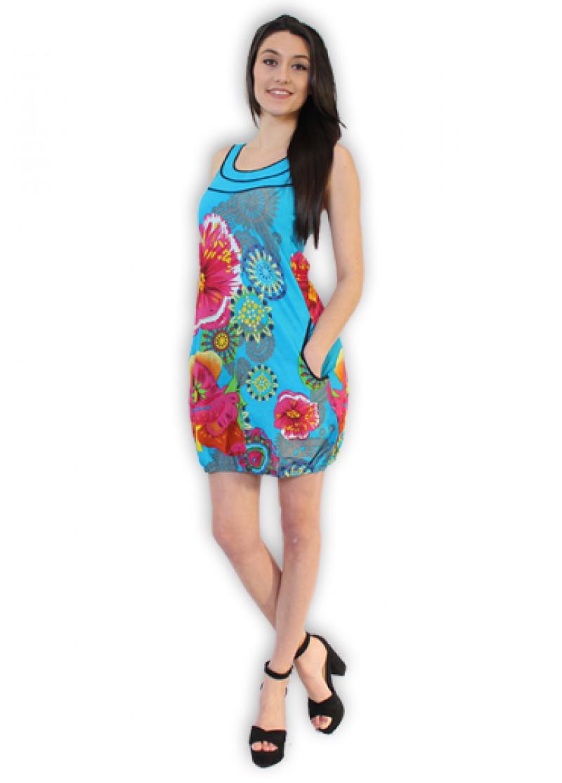 Blue SAVANNA Dress
