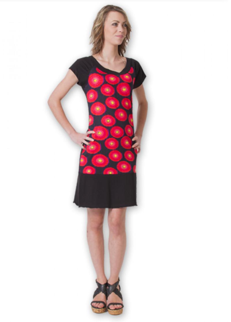 Red SHERIFA Dress