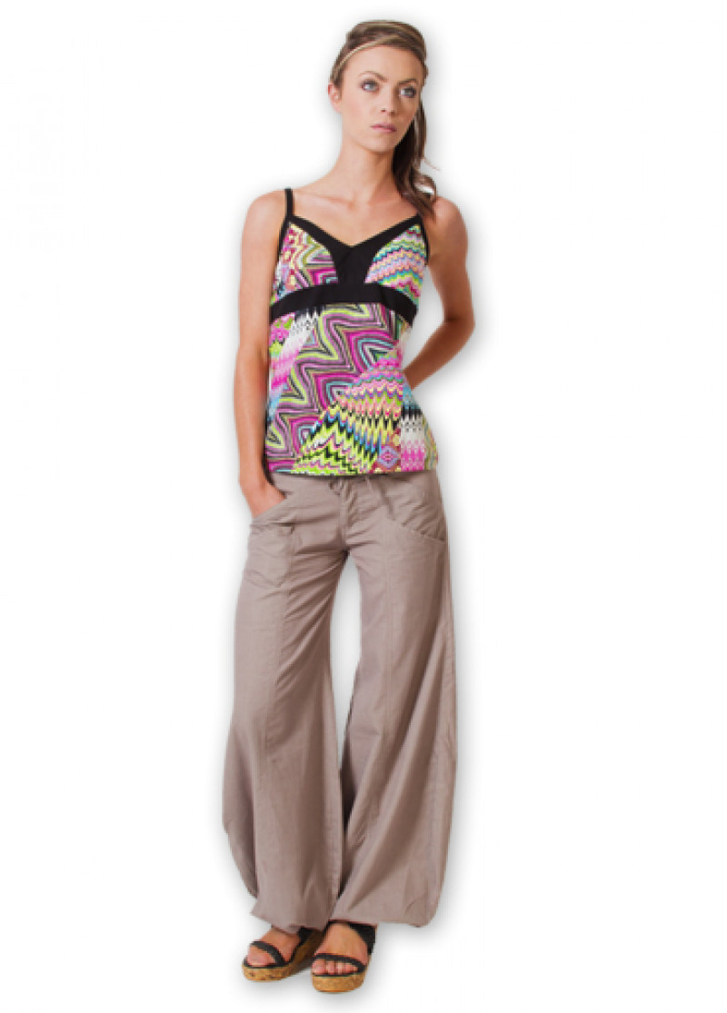 Taupe SOFY Trousers