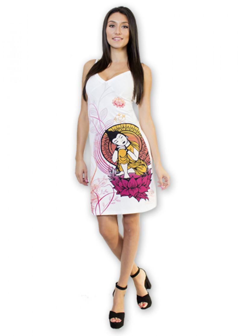 White SOKANA Dress