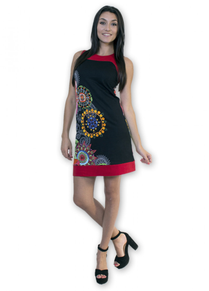 Black AMALIA Dress