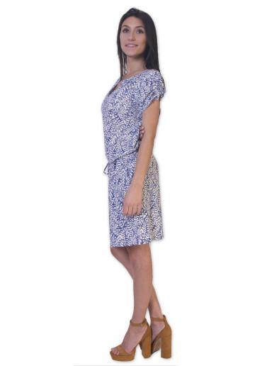 Robe ALEXANDRA Imprimé 26 Bleu